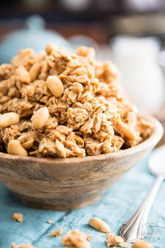 Peanut Butter Granola Clusters • The Healthy Foodie