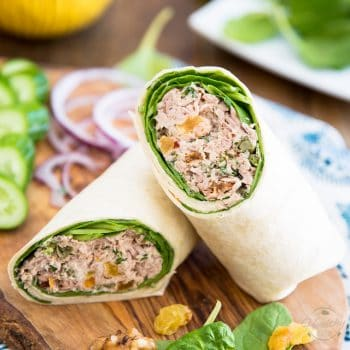 My go-to Tuna Wrap