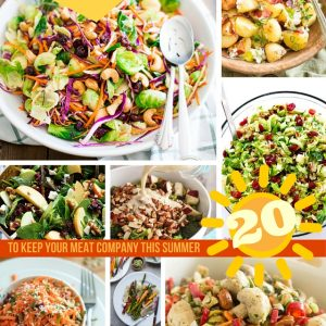 Sides and Salads Recipe Roundup | thehealthyfoodie.com