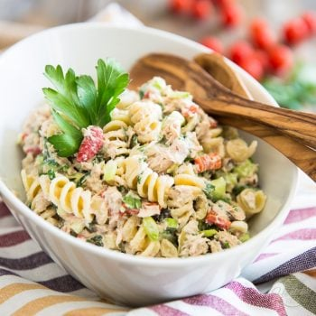 Simple Tuna Rotini Salad