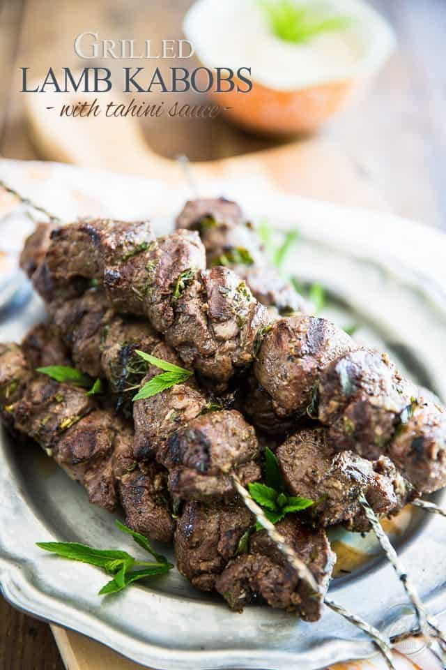 These Lamb Kabobs And Tahini Sauce Harbor So Much Flavor They Totally Belong On The