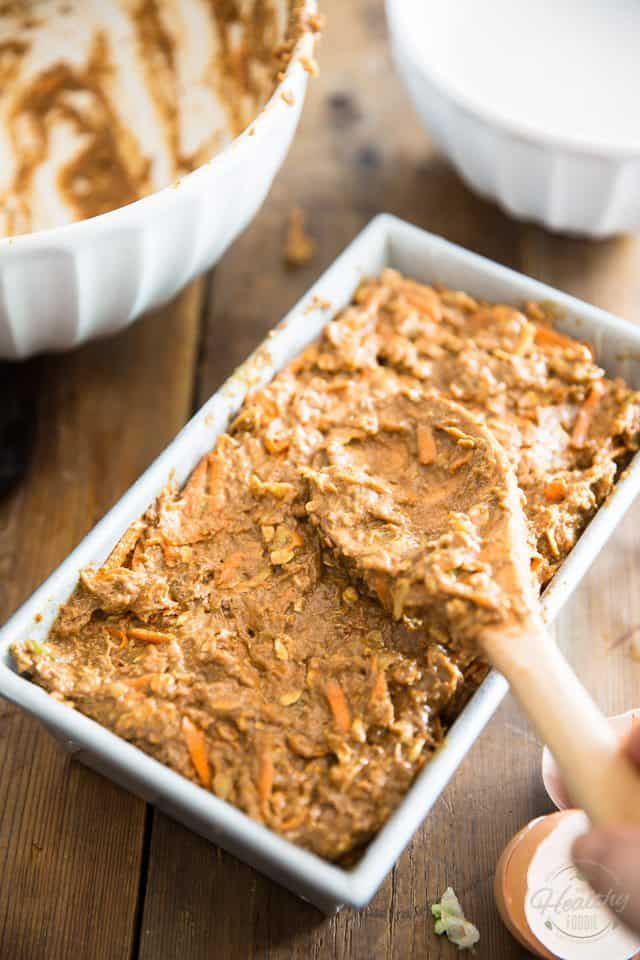Naturally Sweetened Morning Glory Bread - Step-by-Step instructions on thehealthyfoodie.com