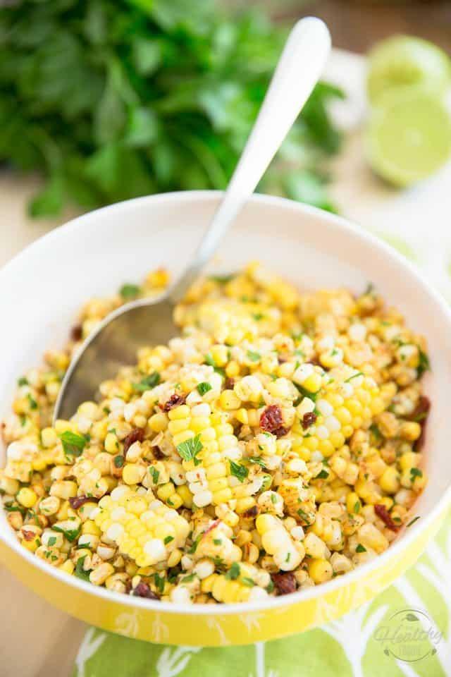 Chili Lime Corn Salad