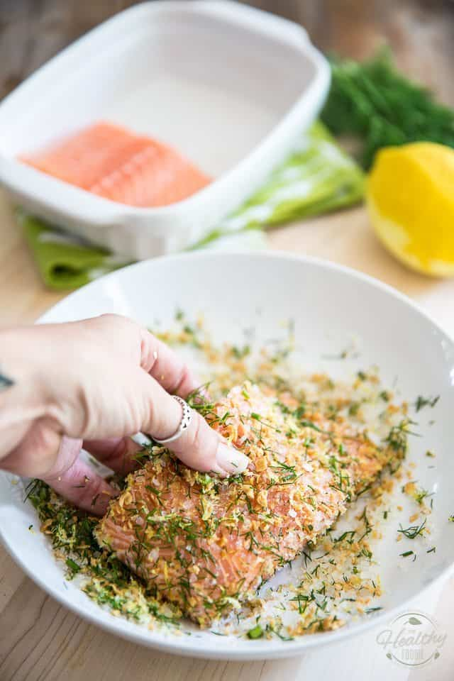 Salmon Confit by The Healthy Foodie | Step-by-step instructions on thehealthyfoodie.com