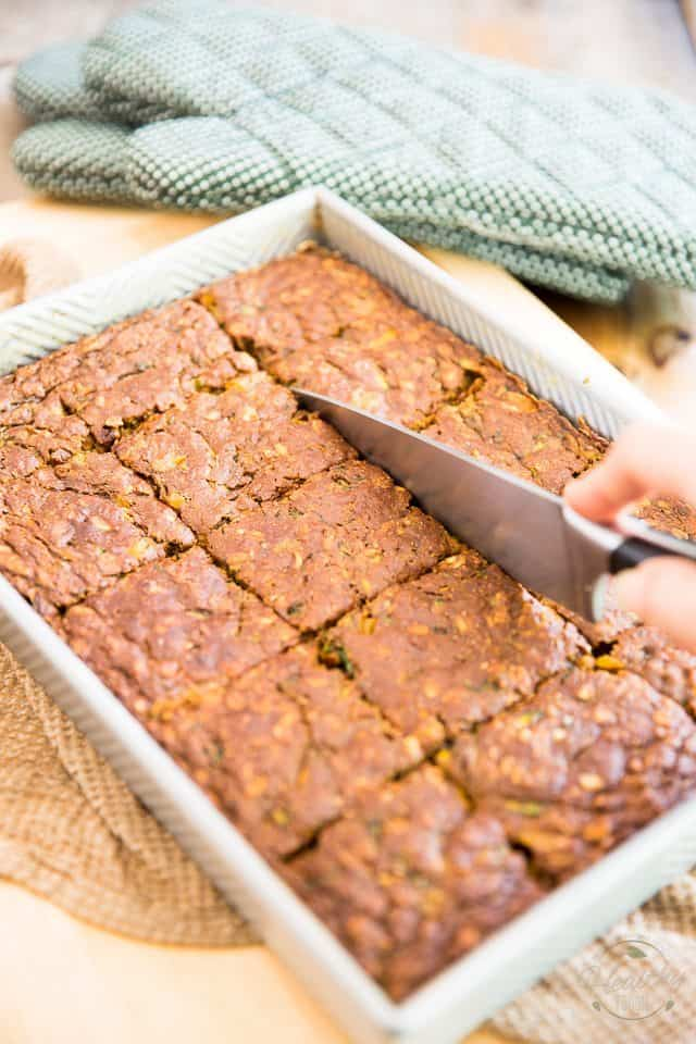 Naturally Sweetened Zucchini Cake by Sonia! The Healthy Foodie | Step-by-step instructions on thehealthyfoodie.com