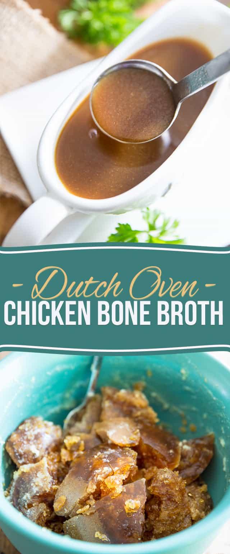 The richest, darkest and most delicious chicken bone broth - period.