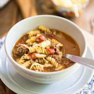 Deliciously Comforting Hamburger Soup