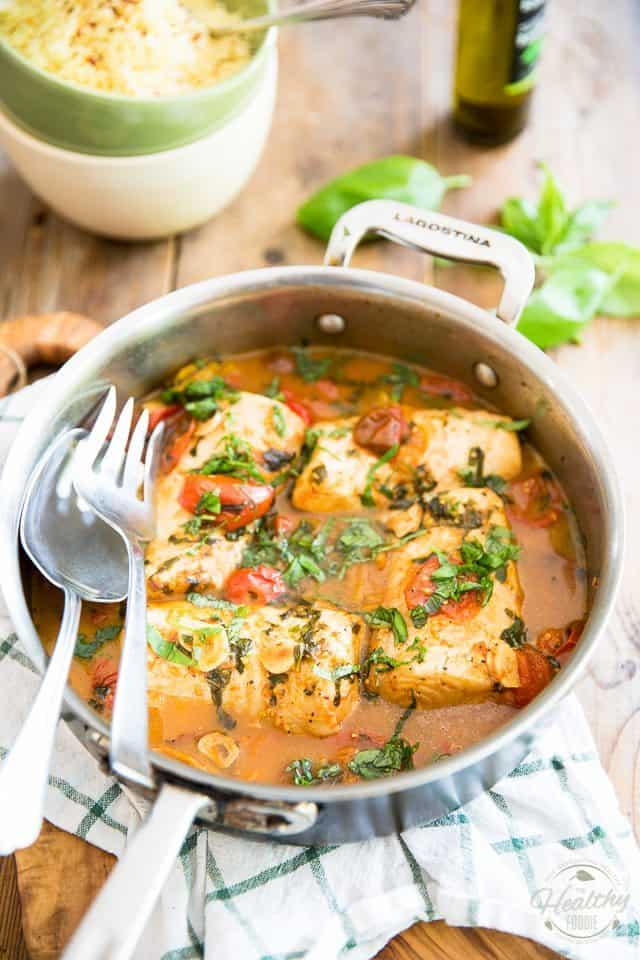 From freezer to table in under 30 minutes - you won't believe how incredibly tasty and delicious this Easy Poached Fish recipe really is!