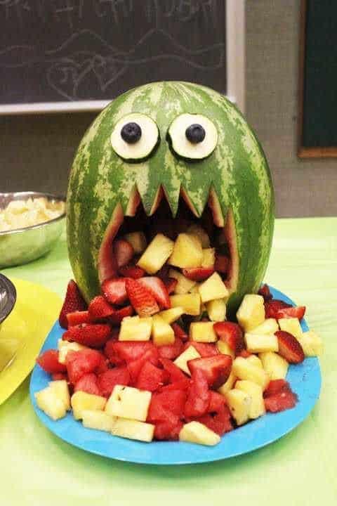 Halloween Puking Melon