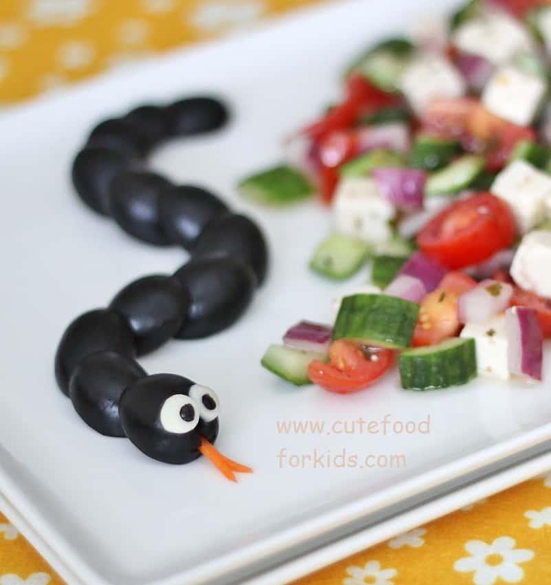 Black Olive Snake