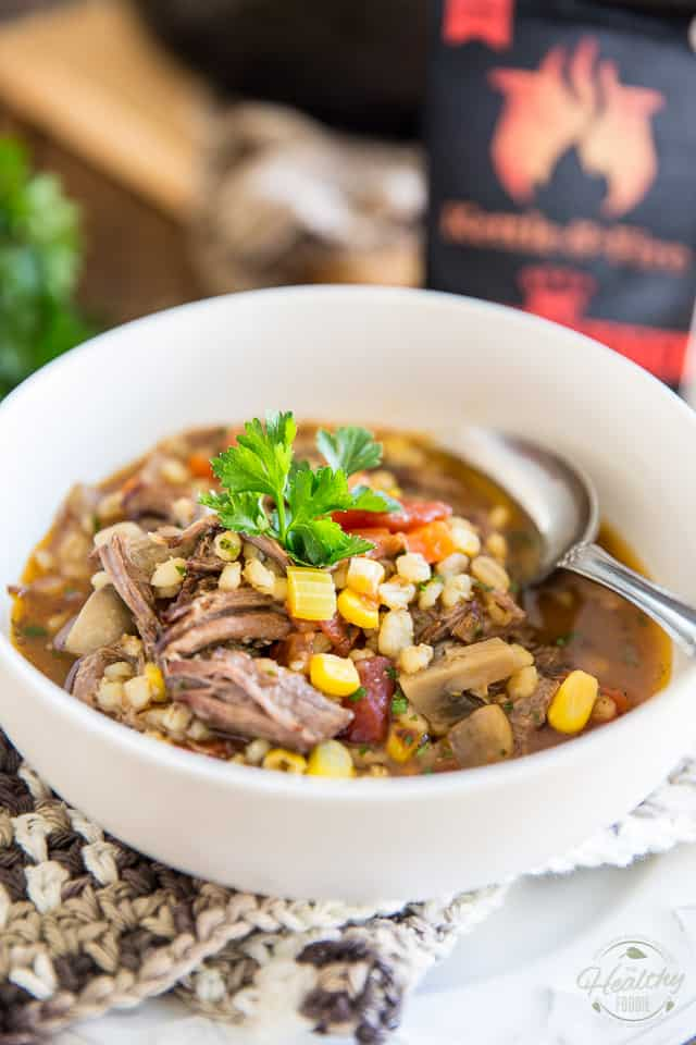 ground beef comforting ground beef and barley soup recipes dishmaps ...