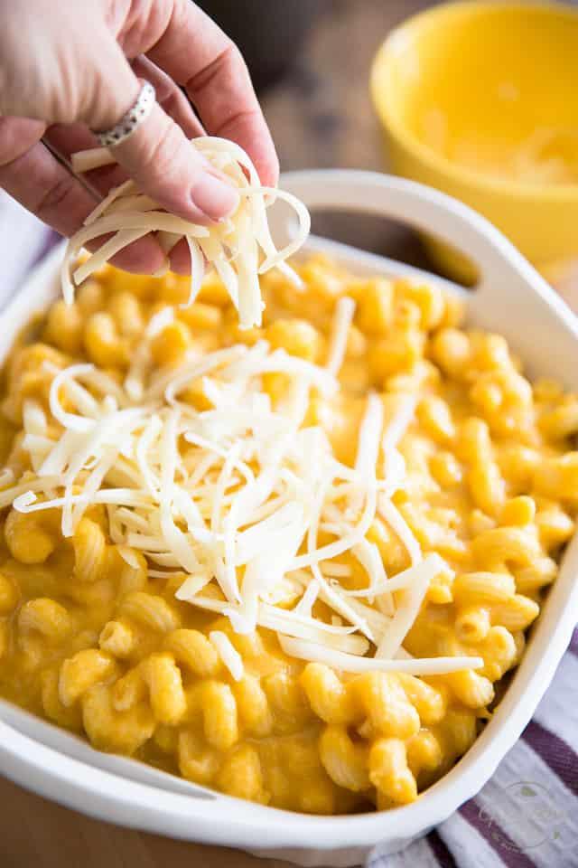 Butternut Squash Mac 'N Cheese • The Healthy Foodie