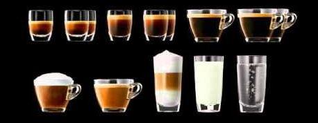 Jura E8 Coffee Selection