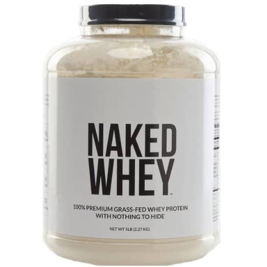 Naked Whey 5lb Jug