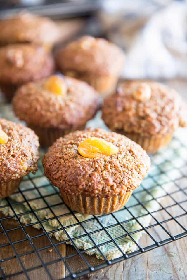 Let the muffins cool for a few minutes in the pan then remove to a ...