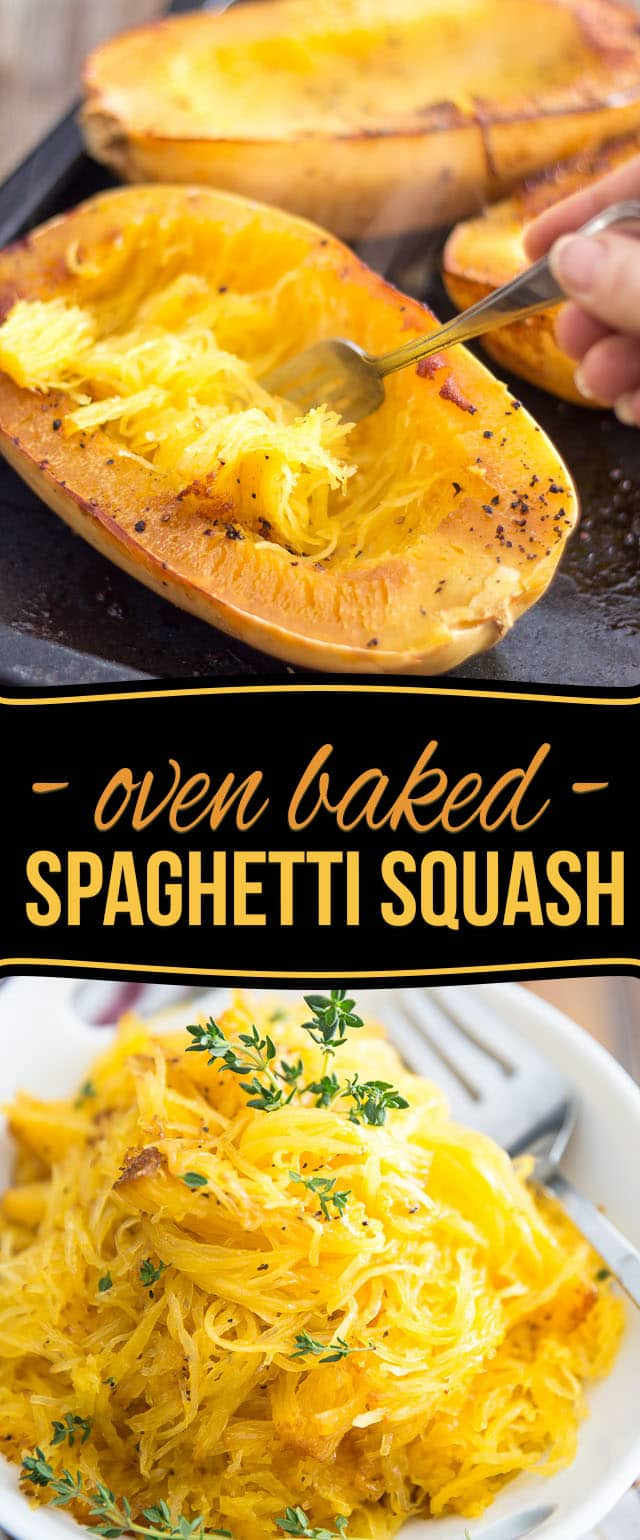 ... Spaghetti Squash might very well become your favorite pasta