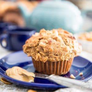 Peanut Butter Oatmeal Muffins