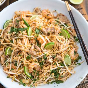 Pork and Shrimp Pad Thai