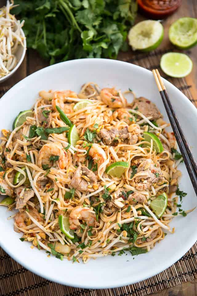 Quick and Easy Pork and Shrimp Pad Thai - who needs take out when you ...