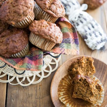 No Sugar Added Sweet Potato Muffins