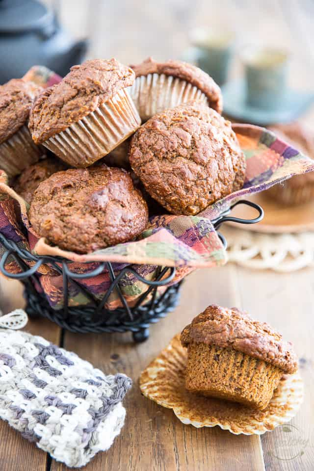 No Sugar Added Sweet Potato Muffins by Sonia! The Healthy Foodie | Recipe on thehealthyfoodie.com