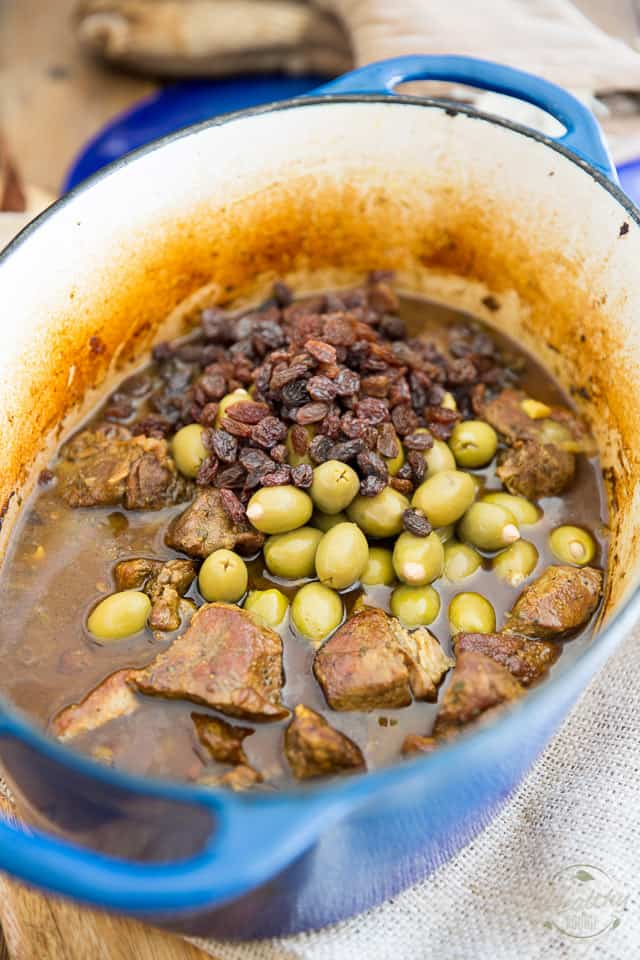 Moroccan Style Braised Lamb Stew by Sonia! The Healthy Foodie | Recipe on thehealthyfoodie.com