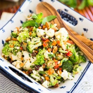 Chopped Veggie Overload Salad