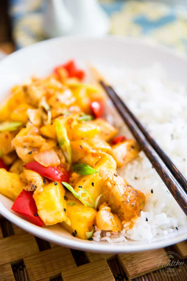 Pineapple Chicken The Healthy Foodie