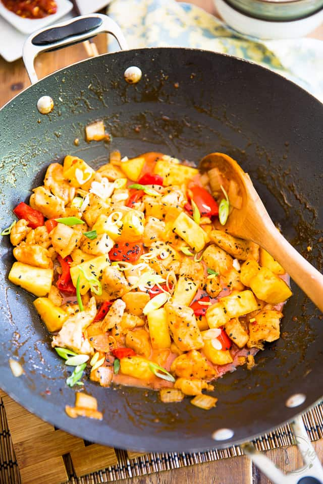 Pineapple Chicken by Sonia! The Healthy Foodie | Recipe on thehealthyfoodie.com