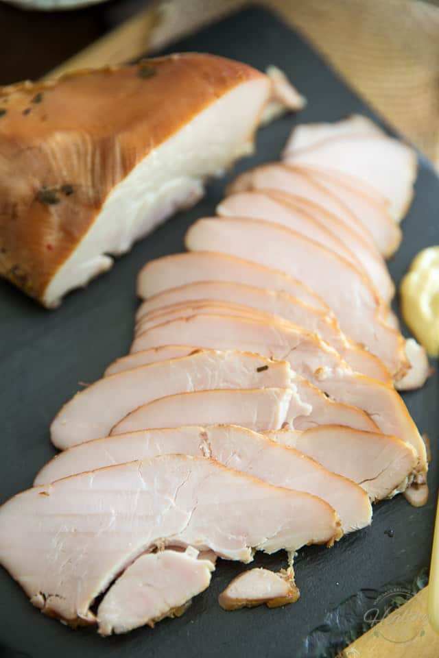 Smoked Turkey Pastrami by Sonia! The Healthy Foodie   Recipe and step-by-step instructions on thehealthyfoodie.com