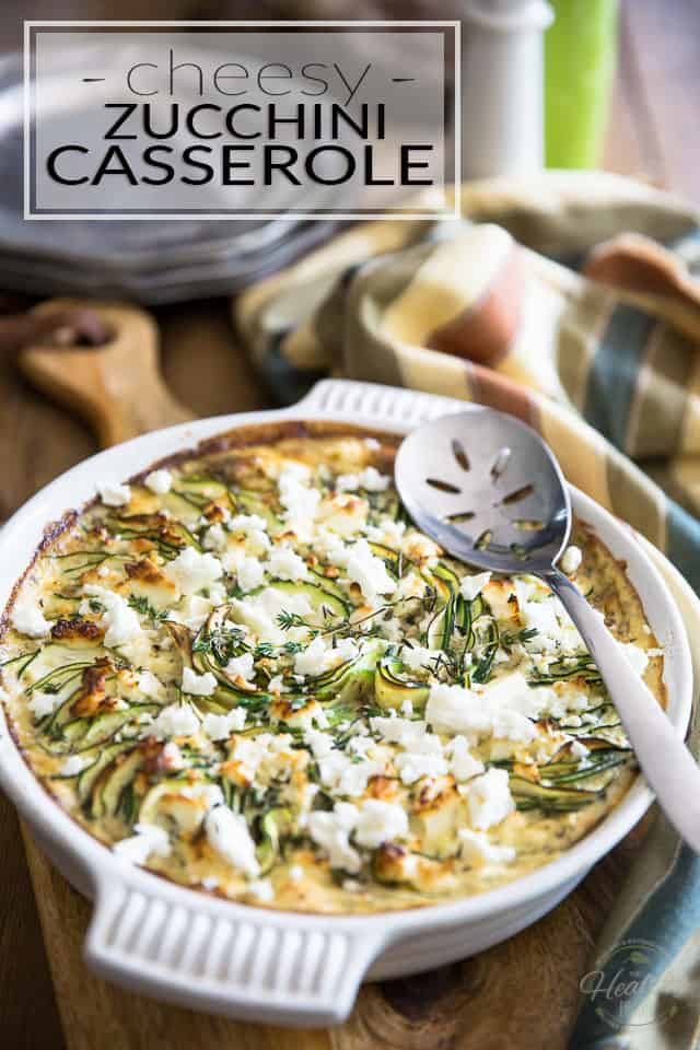 Cheesy Zucchini Casserole by Sonia! The Healthy Foodie | Recipe on thehealthyfoodie.com
