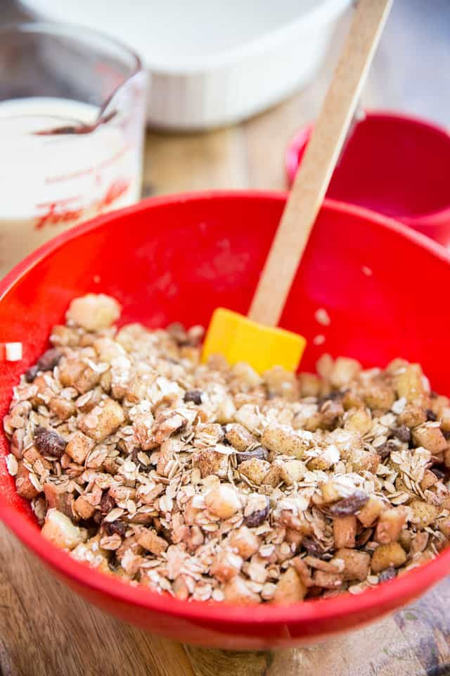 Apple Cinnamon Baked Oatmeal by Sonia! The Healthy Foodie   Recipe on thehealthyfoodie.com