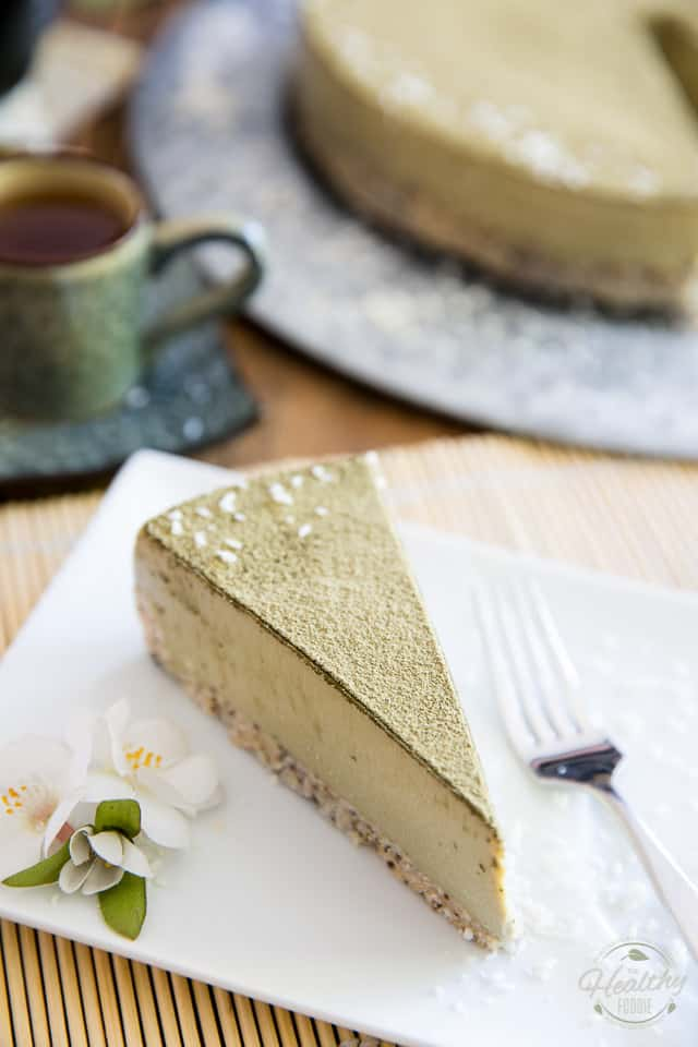Looking for a healthy and refreshing dessert option? This Coconut Matcha Cheesecake is guaranteed to fit the bill. Wait 'til you see the list of ingredients
