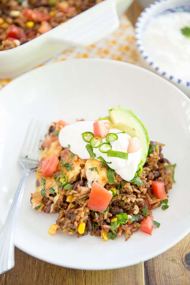 Mexican Rice Casserole by Sonia! The Healthy Foodie   Recipe on thehealthyfoodie.com