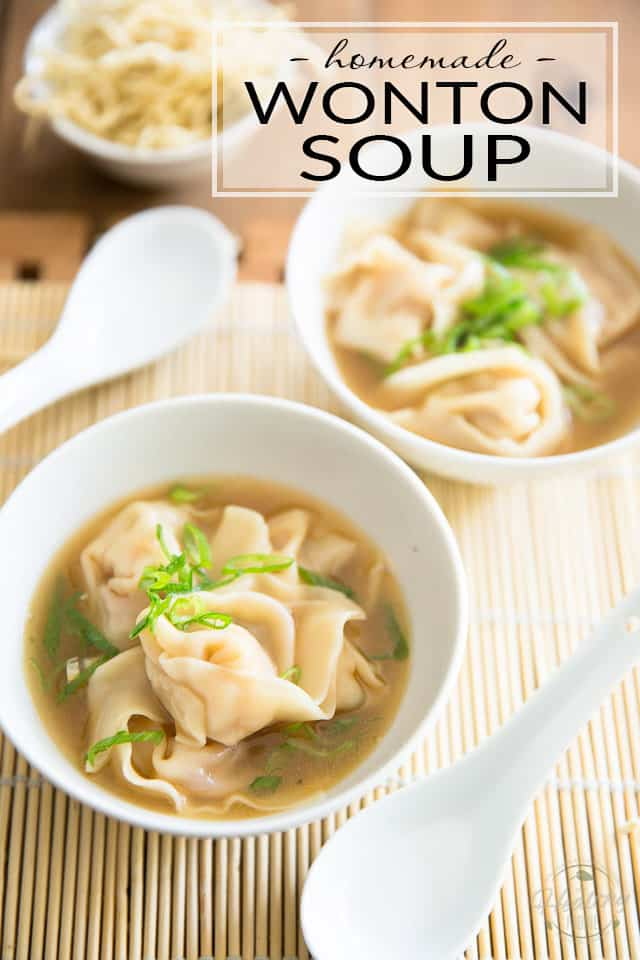 Making Wonton Soup at home really isn't as hard as you might think; in fact, it's even quite fun. Learn how with this great tutorial and pictures!
