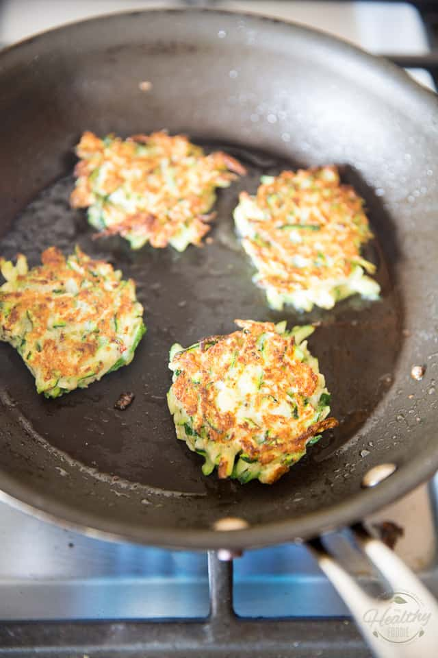 Zucchini Fritters by Sonia! The Healthy Foodie | Recipe on thehealthyfoodie.com