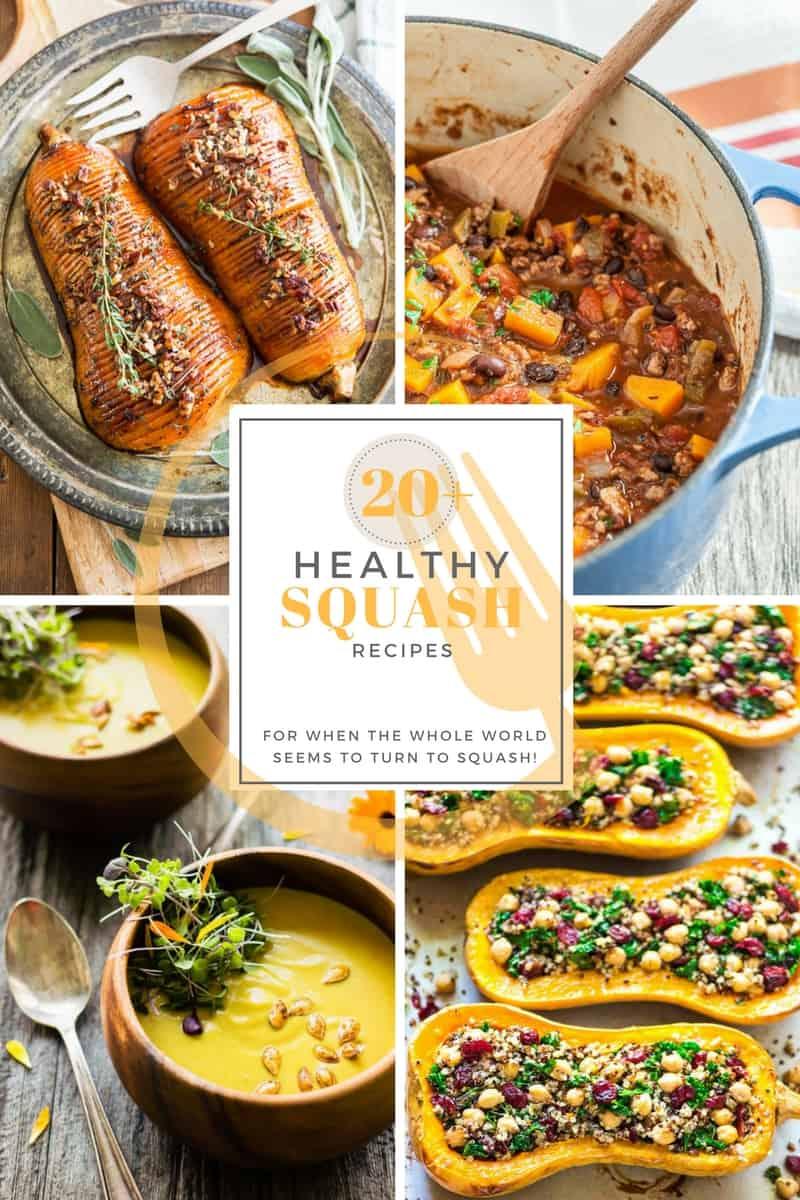 20 Healthy Squash Recipes