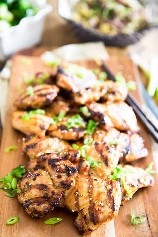 Sesame Maple Grilled Chicken by Sonia! The Healthy Foodie | Recipe on thehealthyfoodie.com