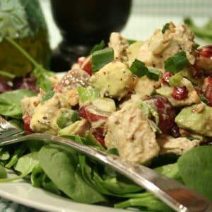 Cold Chicken Avocado Salad