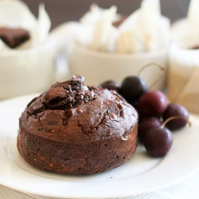 Chocolate Cherry Buckwheat Bake