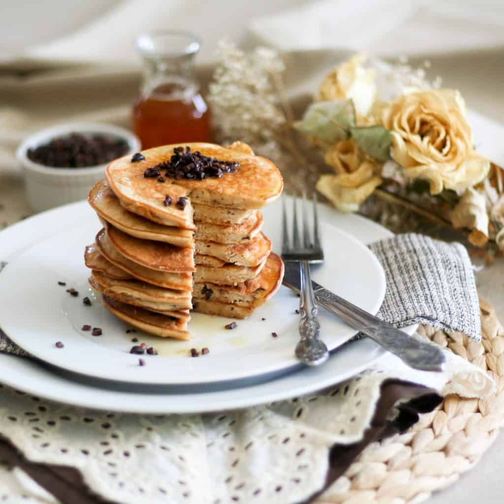 Coconut Pancake Tower | by Sonia The Healthy Foodie