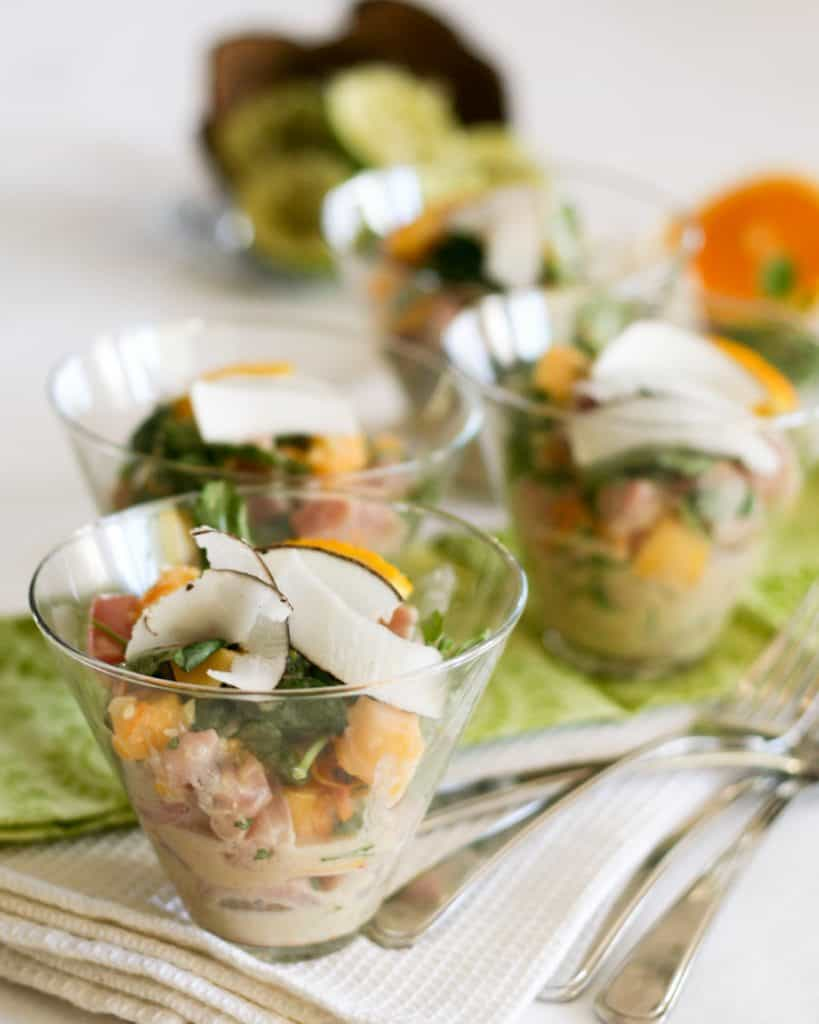 Tropical Tuna Ceviche | by Sonia! The Healthy Foodie