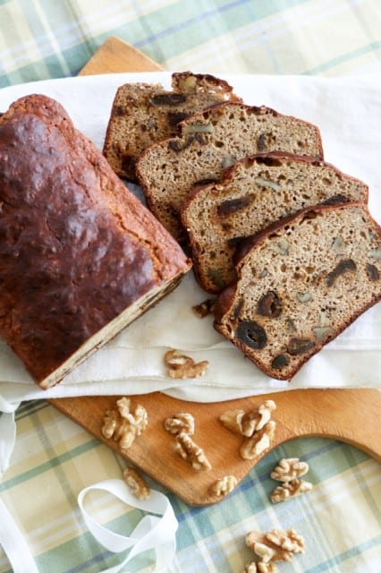 Whole Grain Date Walnut Bread | by Sonia! The Healthy Foodie