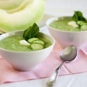 Honeydew Cucumber Soup