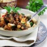 Ratatouille on Quinoa