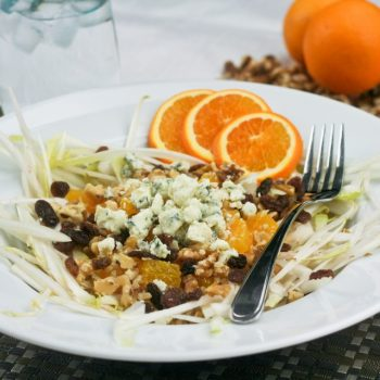 Orange, Endive and Blue Cheese Salad