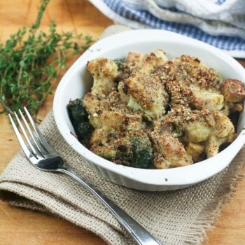 Cauliflower and Broccoli Casserole