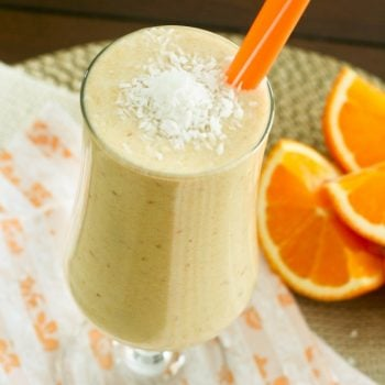 Orange, Date and Coconut Smoothie