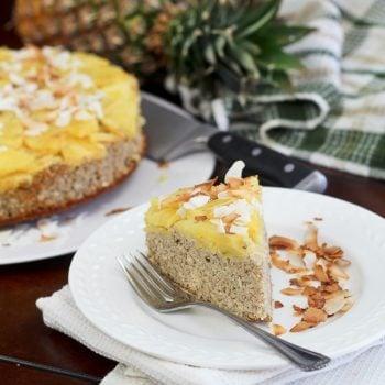 Upside Down Pineapple [Breakfast] Cake