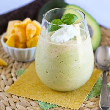 Avocado Mango Smoothie, aka The Joann Special